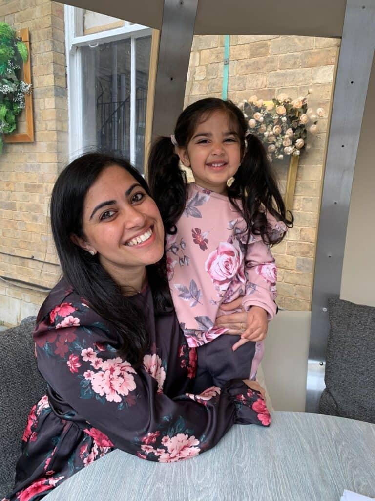 Reema and Daughter